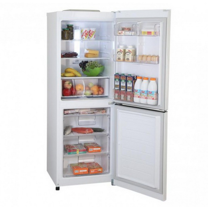 двухкамерный встроенный холодильник LG GA-b379 squl white