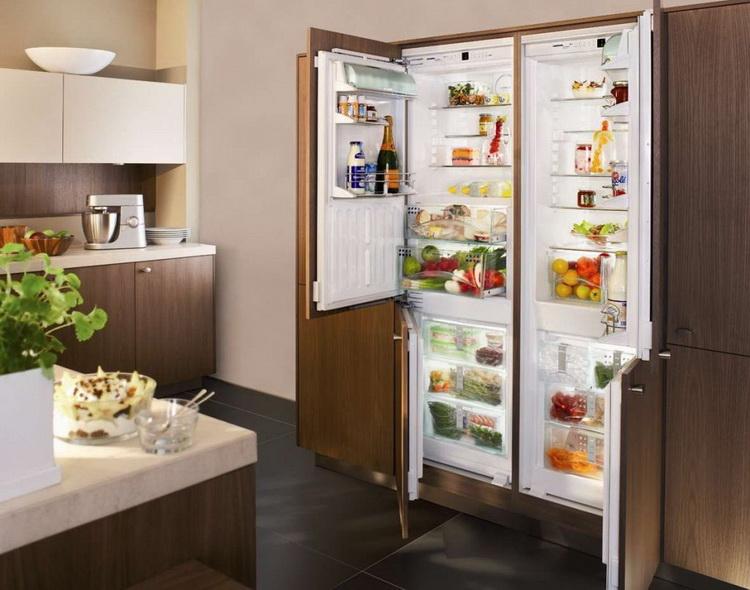 Полностью встраиваемые холодильники