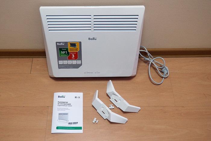 конвекторный экономичный обогреватель BALLU BEC/EM-1000