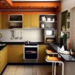 3 совета по обустройству маленькой кухни