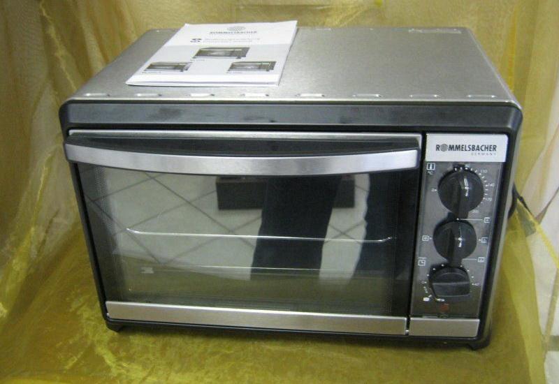 электрическая мини-печь ROMMELSBACHER BG 1055/E