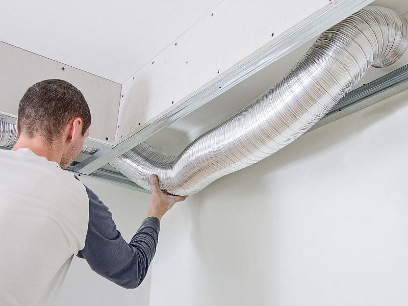 Монтаж вентиляции квартиры